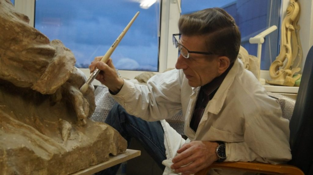 Реставрация макета памятника Эрьзе завершена